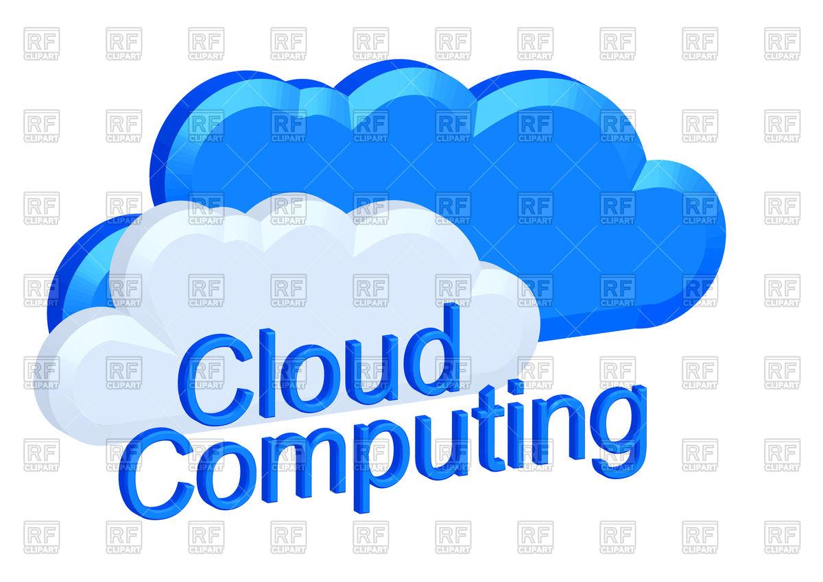 Cloud computing concept Vector Image #111782.