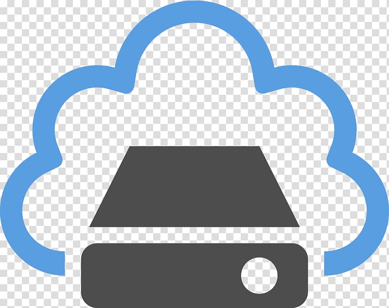 Cloud service logo, Cloud computing Cloud storage Icon.