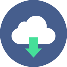 Download Cloud Icon Flat.