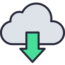 Download Cloud Icon Outline Filled.