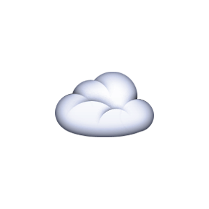 a cloud emoji uploaded by thrift shop ?? on We Heart It.