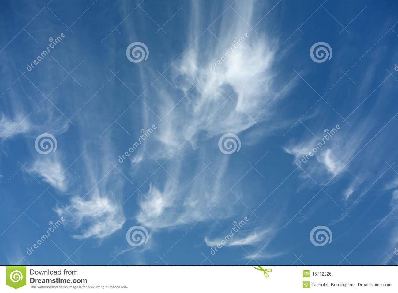 Cirrus Cloud Clipart.
