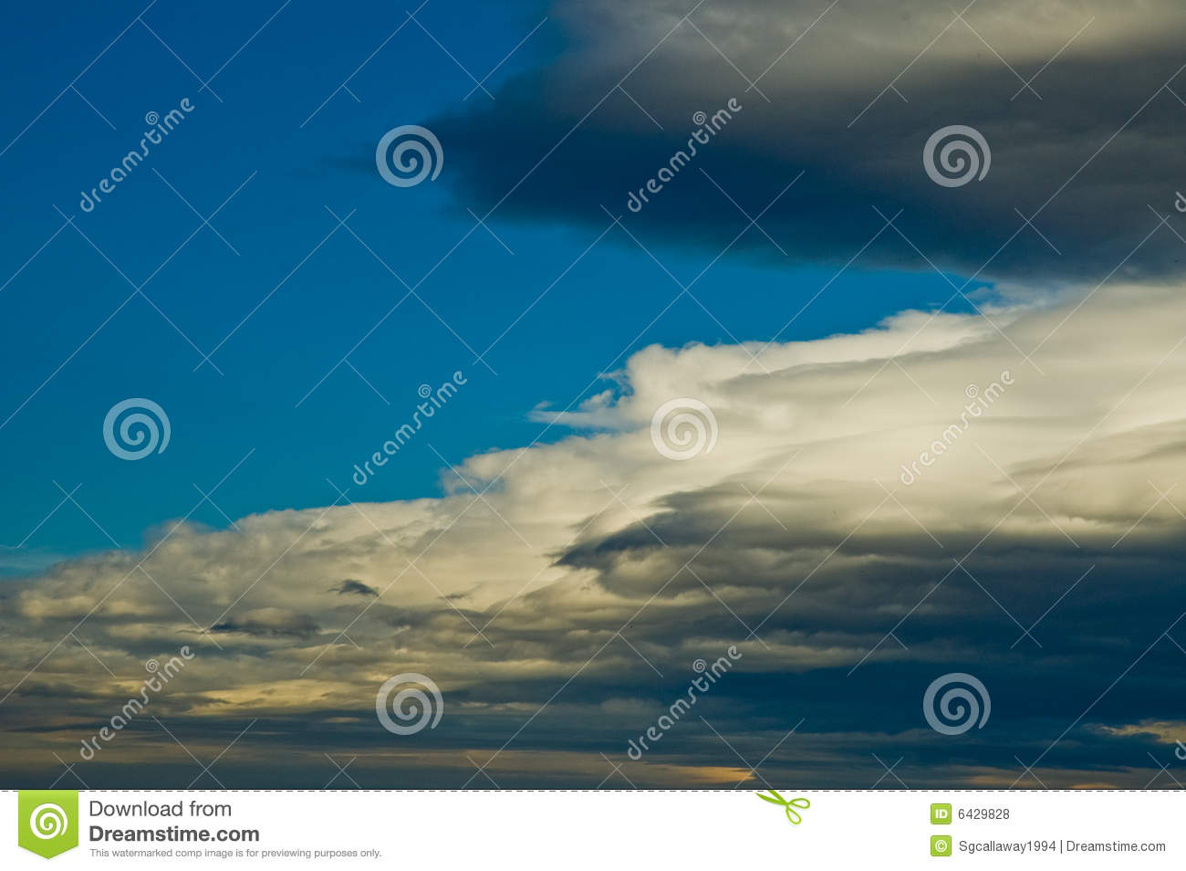 Stratus Clouds Clipart.