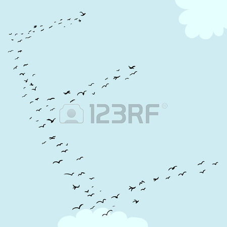 Letter e clipart formation.