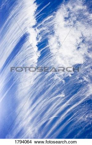 Stock Photo of Strange cloud formations 1794064.