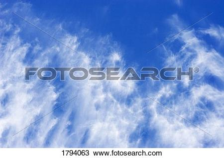 Stock Photo of Cloud formations 1794063.