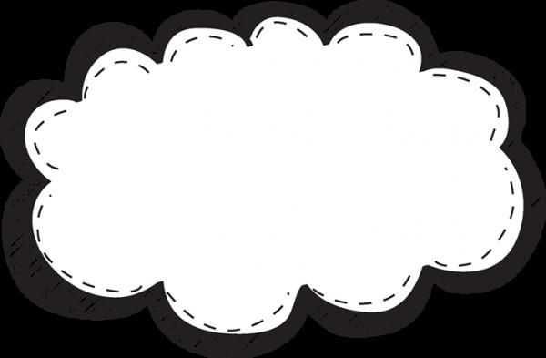 Cloud Frame Png Images PNG Transparent Vector, Clipart, PSD.