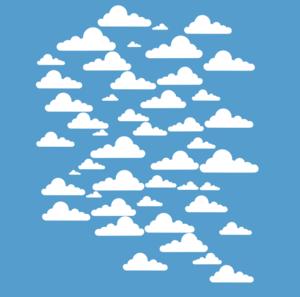 Clouds In Sky Clip Art at Clker.com.