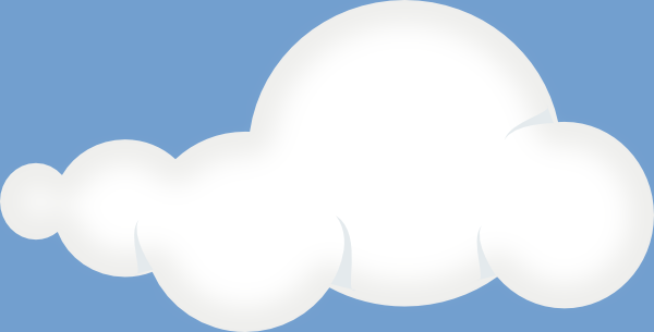 Soft Clouds Sky clip art Free Vector / 4Vector.