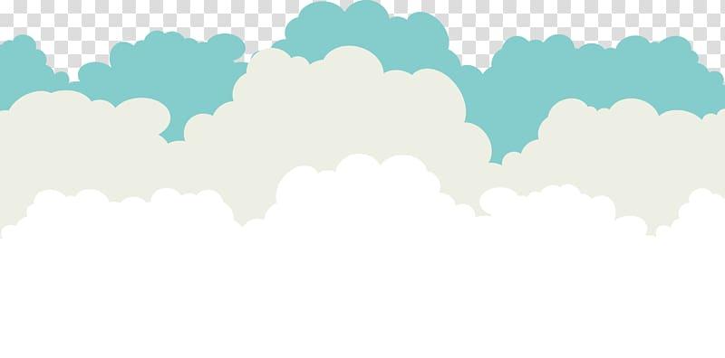 Sky Blue Cloud , Creative clouds , clouds illustration.