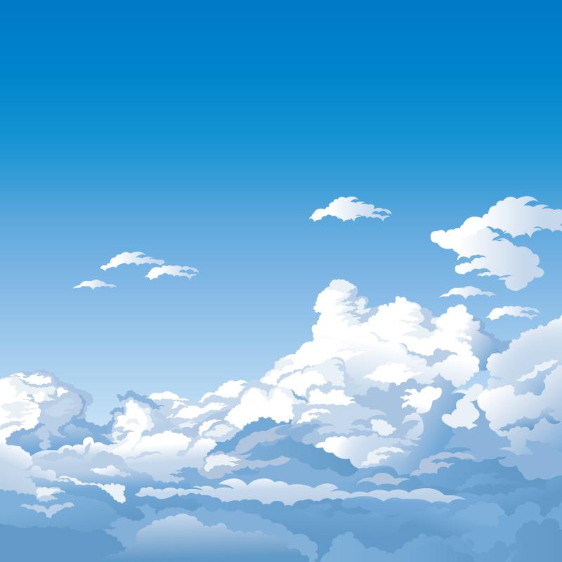 Clouds Cartoon.