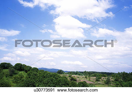 Stock Photography of cloud, landscape, sky, mountain, scenery.