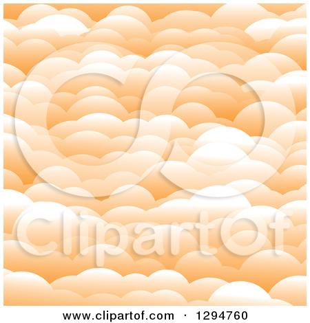 Clipart of a Blue Cloud and Rain Drops.