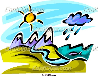 Cloud Mountain Clip Art.