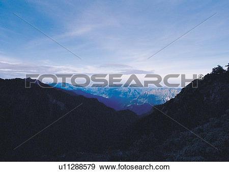 Stock Photograph of nature, cloud, mountain, sky u11288579.