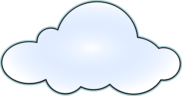 Cartoon Cloud Transparent Clipart.