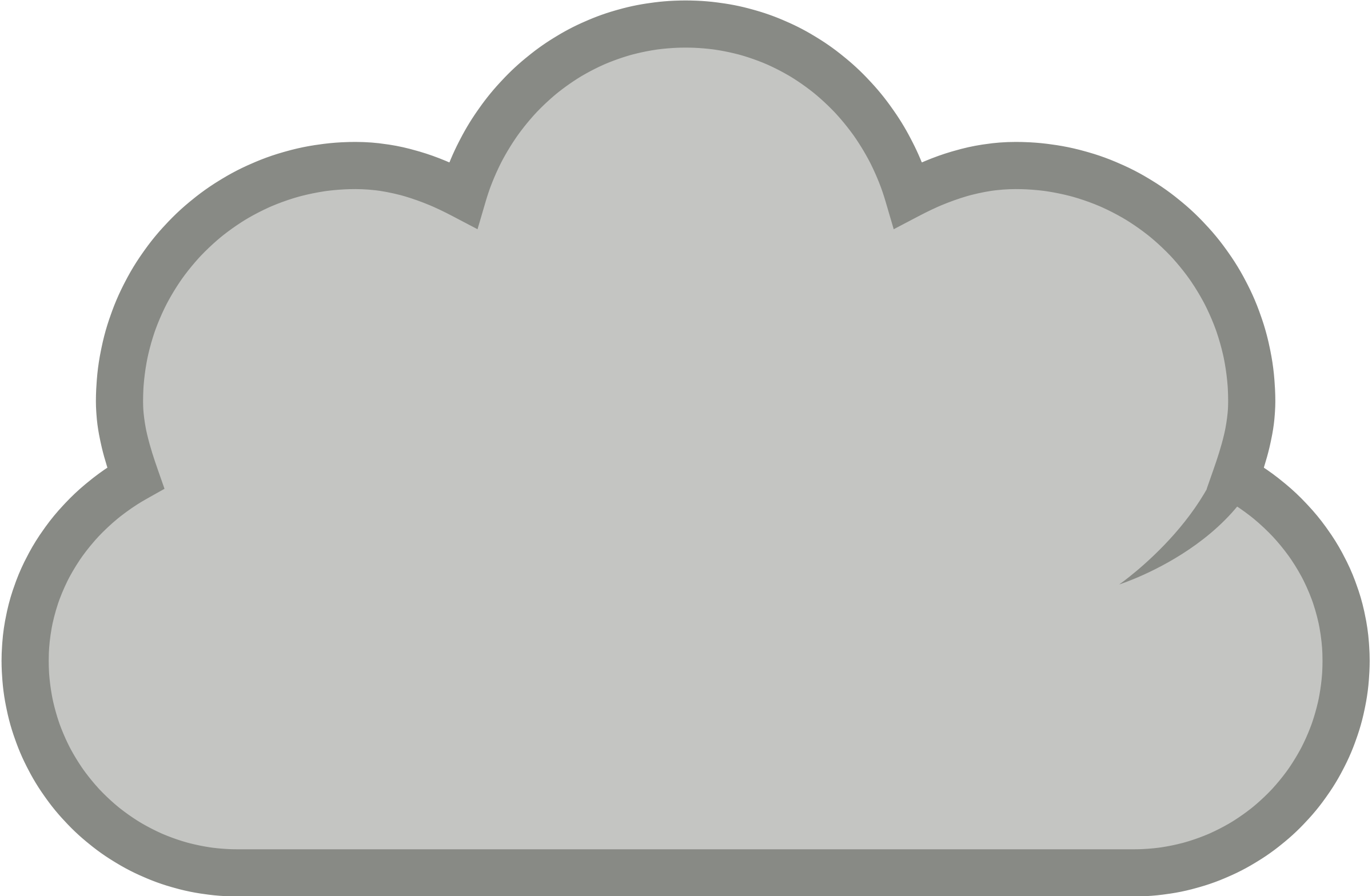 Cloud Clipart Free Clip art of Cloud Clipart #842 — Clipartwork.