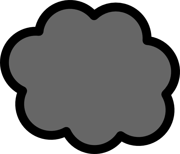 Cloud of smoke clipart.