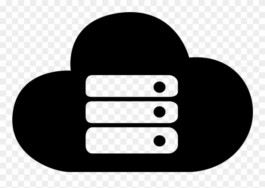 Cloud Server Clipart Transparent.