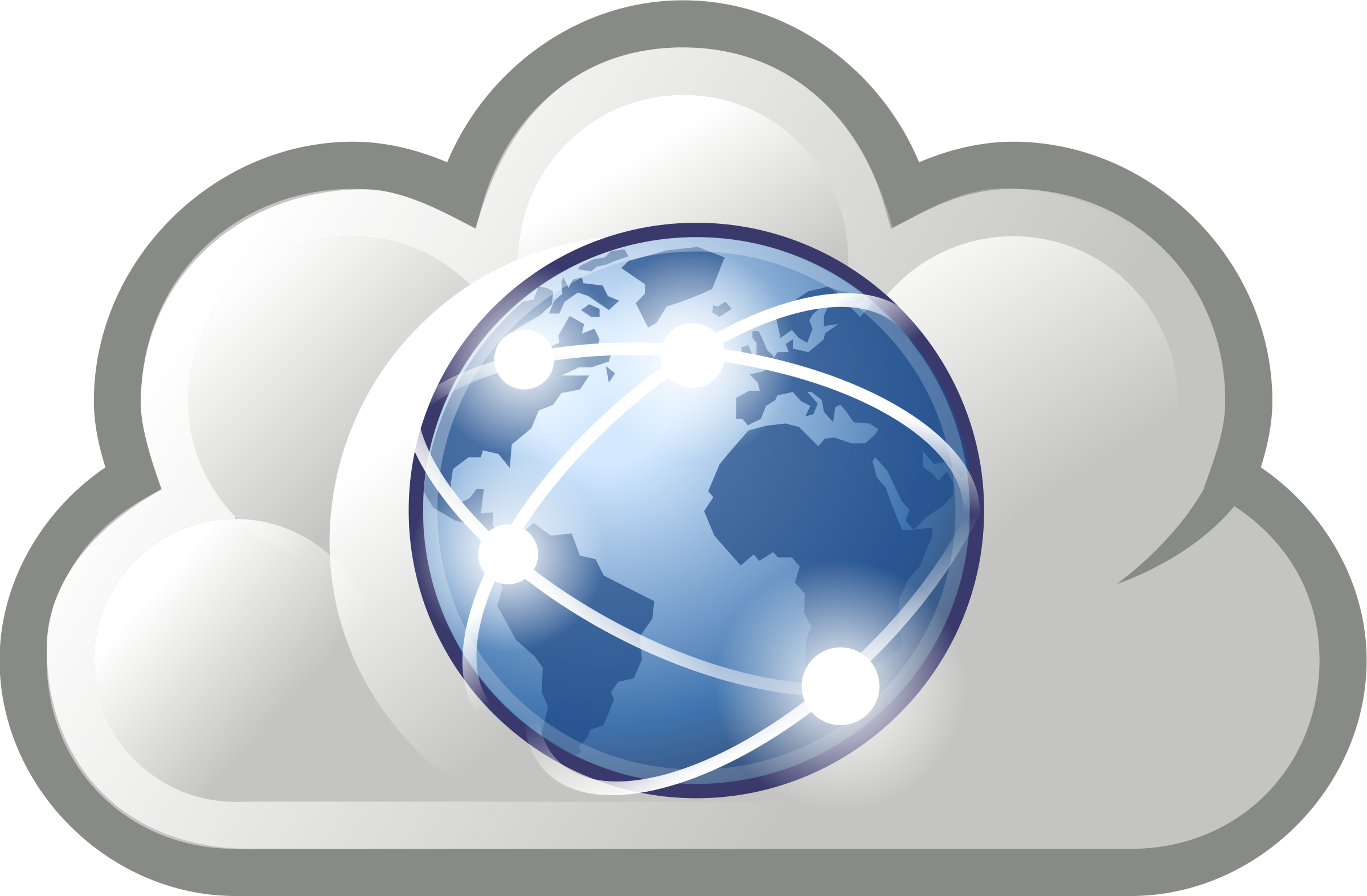 Internet cloud clipart.