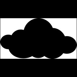 Cloud Silhouette.