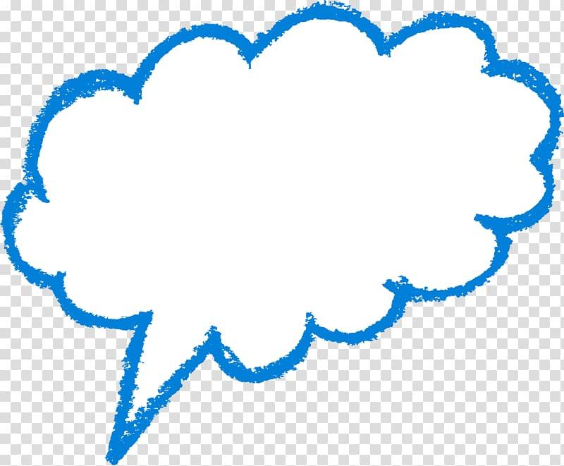 Message dialog illustration, Speech balloon Text Cloud.