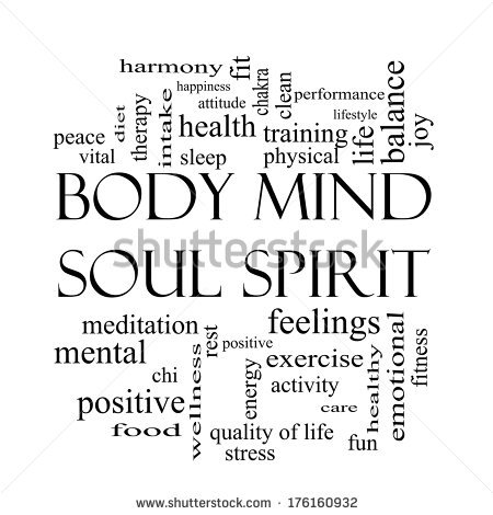 Mind Body Spirit Stock Photos, Royalty.
