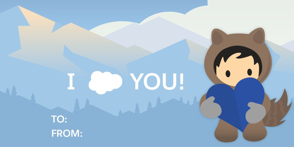 "Service Cloud on Twitter: ""Spread the Love with Our Pun."