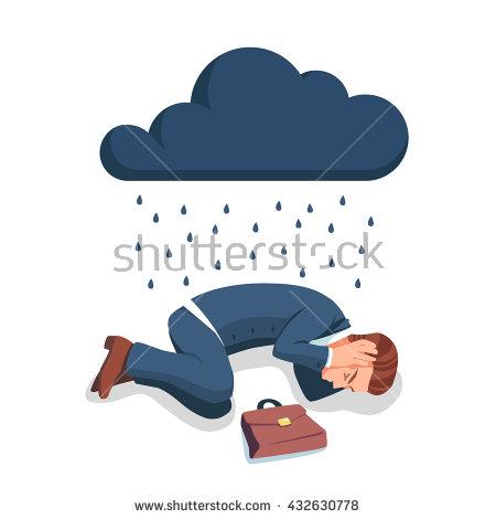 Depression Stock Vectors, Images & Vector Art.