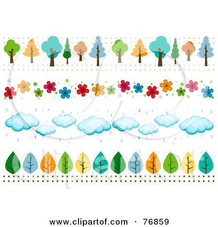 Cloud tree clipart #15