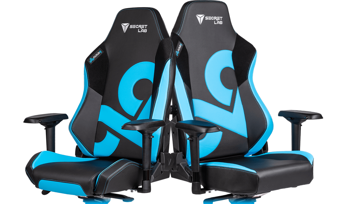 Cloud9 x Secretlab gaming chair.