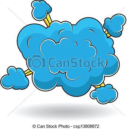 Cloud Burst Clipart.