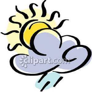 Partly Cloudy Pictures Clip Art (54+).