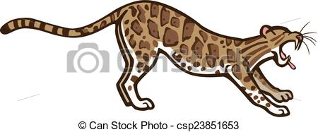 Clouded leopard Vector Clipart Royalty Free. 28 Clouded leopard.