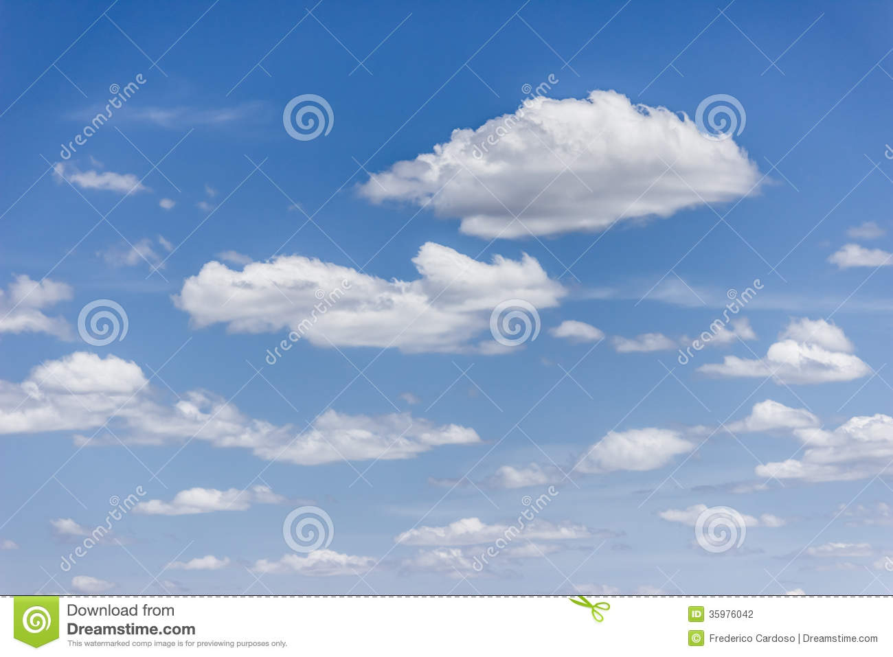 Cloudy Sky Stock Photography.