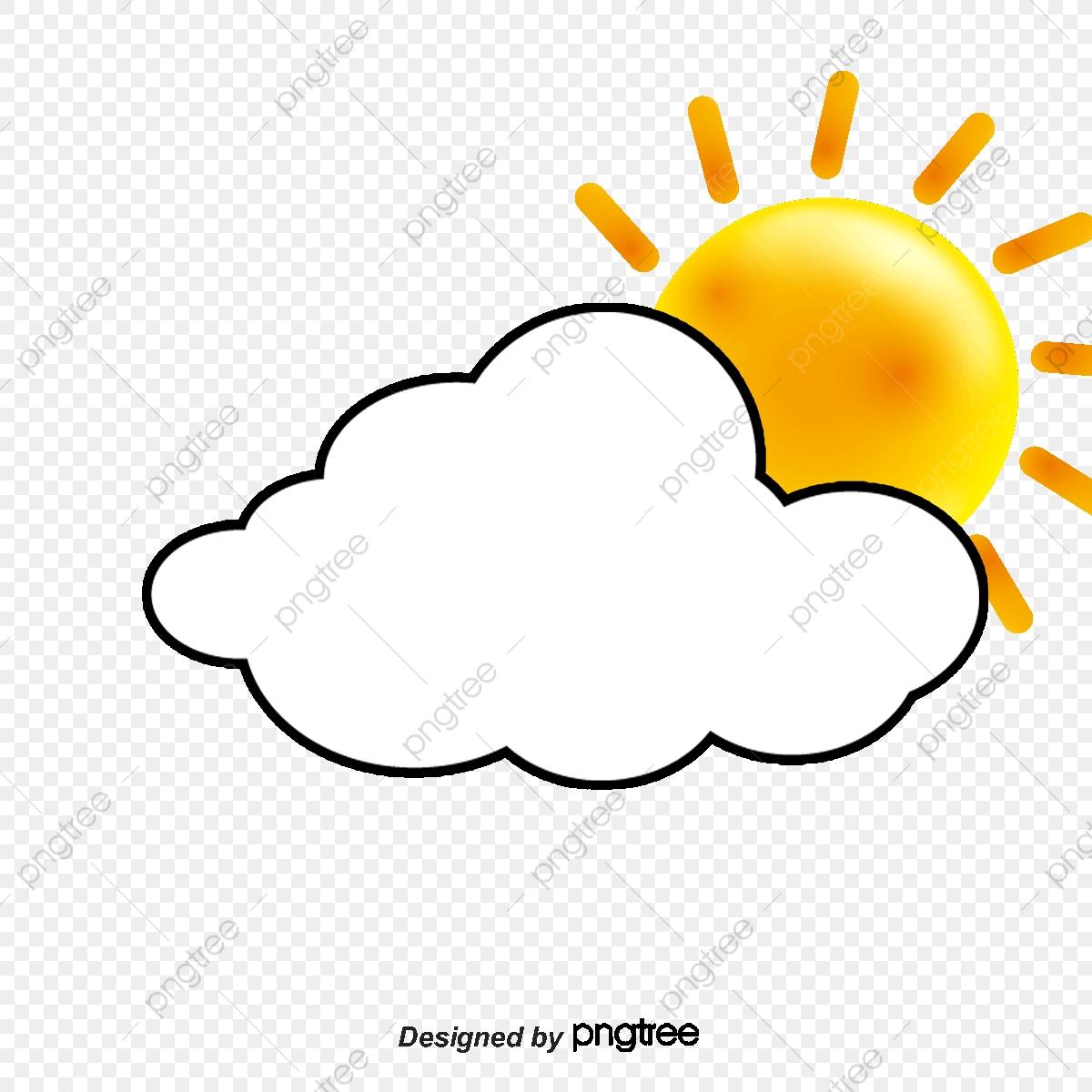 Clouds And Sun, Sun Clipart, Sun, Cloud PNG Transparent Clipart.