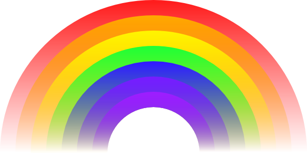 Cute Rainbow Clipart.