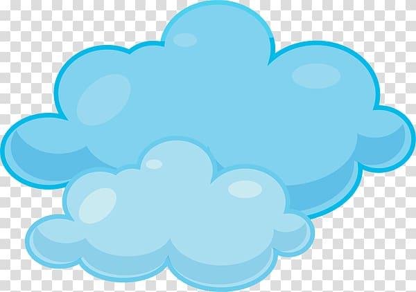 Blue clouds, Cloud , Clouds transparent background PNG clipart.
