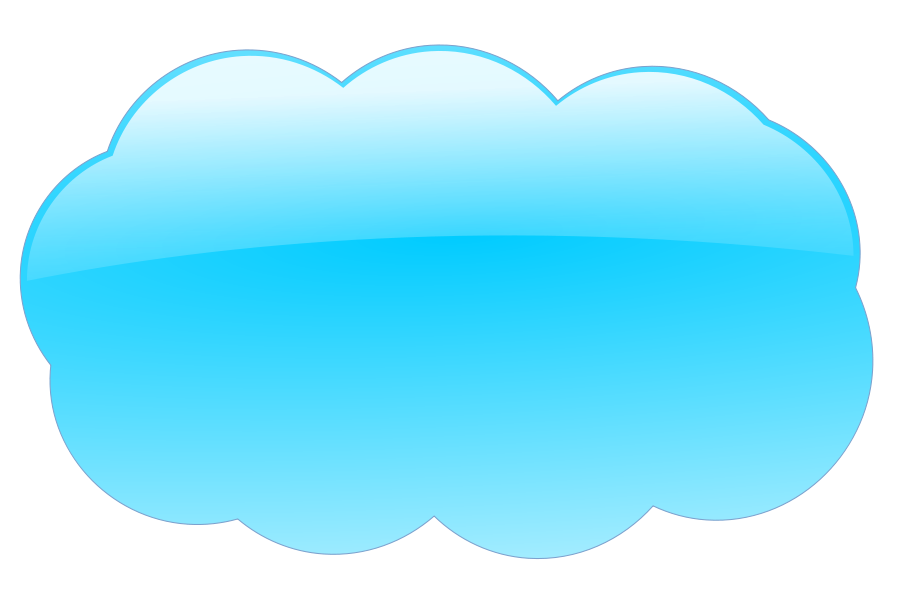 Clouds clipart vector.