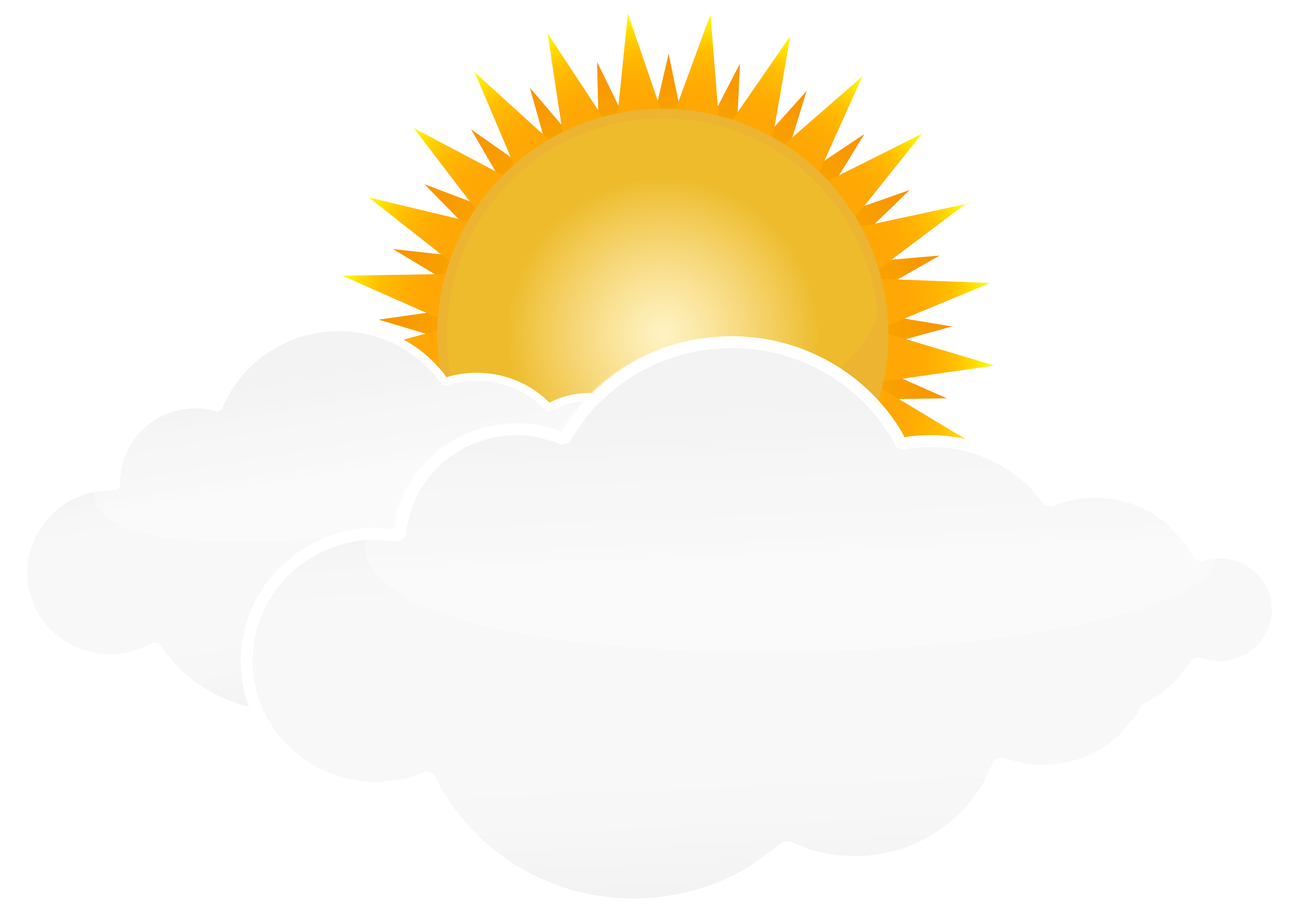 Sun And Clouds Clipart Png.