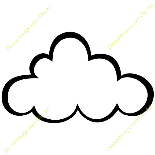 Image of Cloudy Clipart #7315, Best Cloud Clip Art Cloudy Clipart.