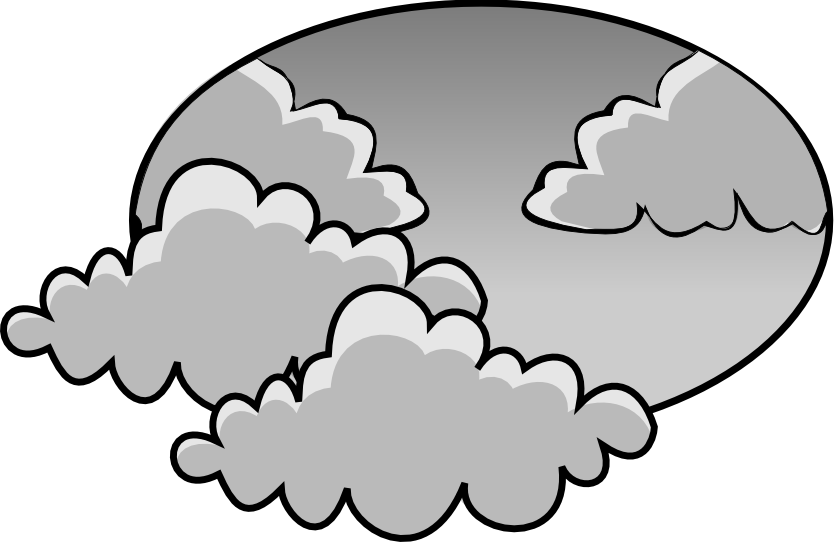 Cloudy Cloud Clipart.