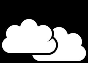 Clip art of clouds.