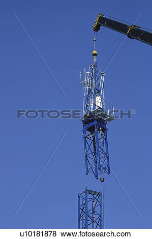 Pictures of Construction, Crane, Cranes, Sky, High, Cloud, Clouds.