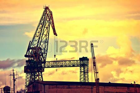 Shipyard Construction Stock Vector Illustration And Royalty Free.
