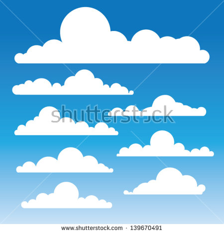 Clouds Stock Photos, Royalty.