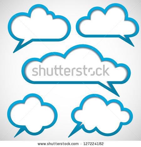 Message Cloud Stock Photos, Royalty.