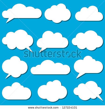 Cloud Vectors Stock Photos, Royalty.