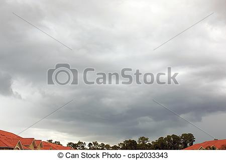 Stock Photos of wide angle shot of storm clouds gathering.