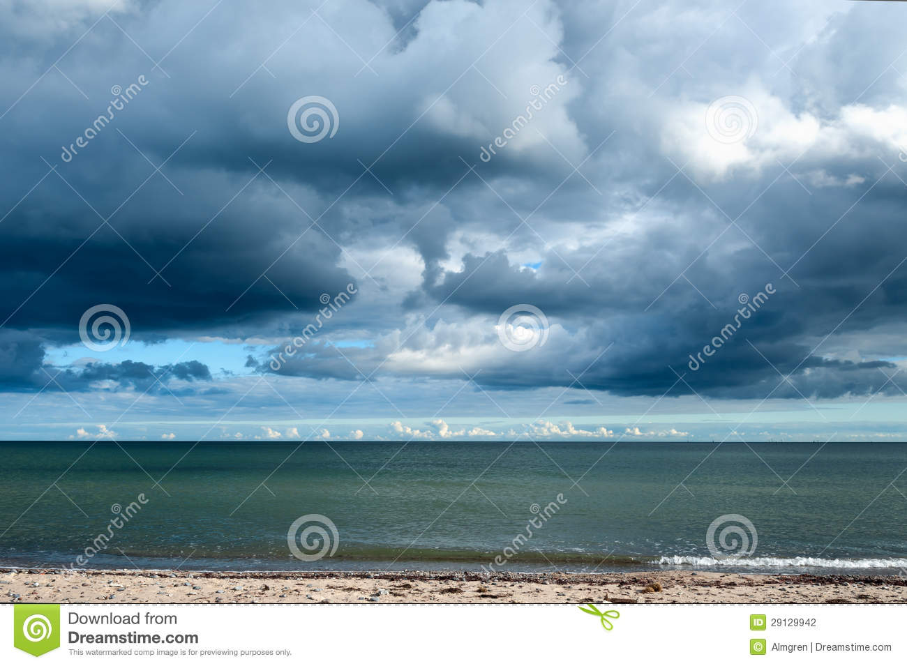 Storm Clouds Gathering Clipart.